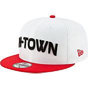 New Era Men's Houston Rockets 9Fifty City Edition Adjustable Snapback Hat