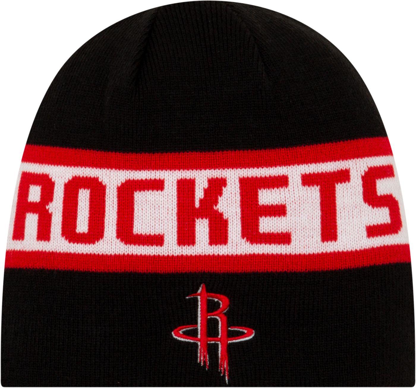 New Era Men's Houston Rockets Reversible Sports Knit Hat