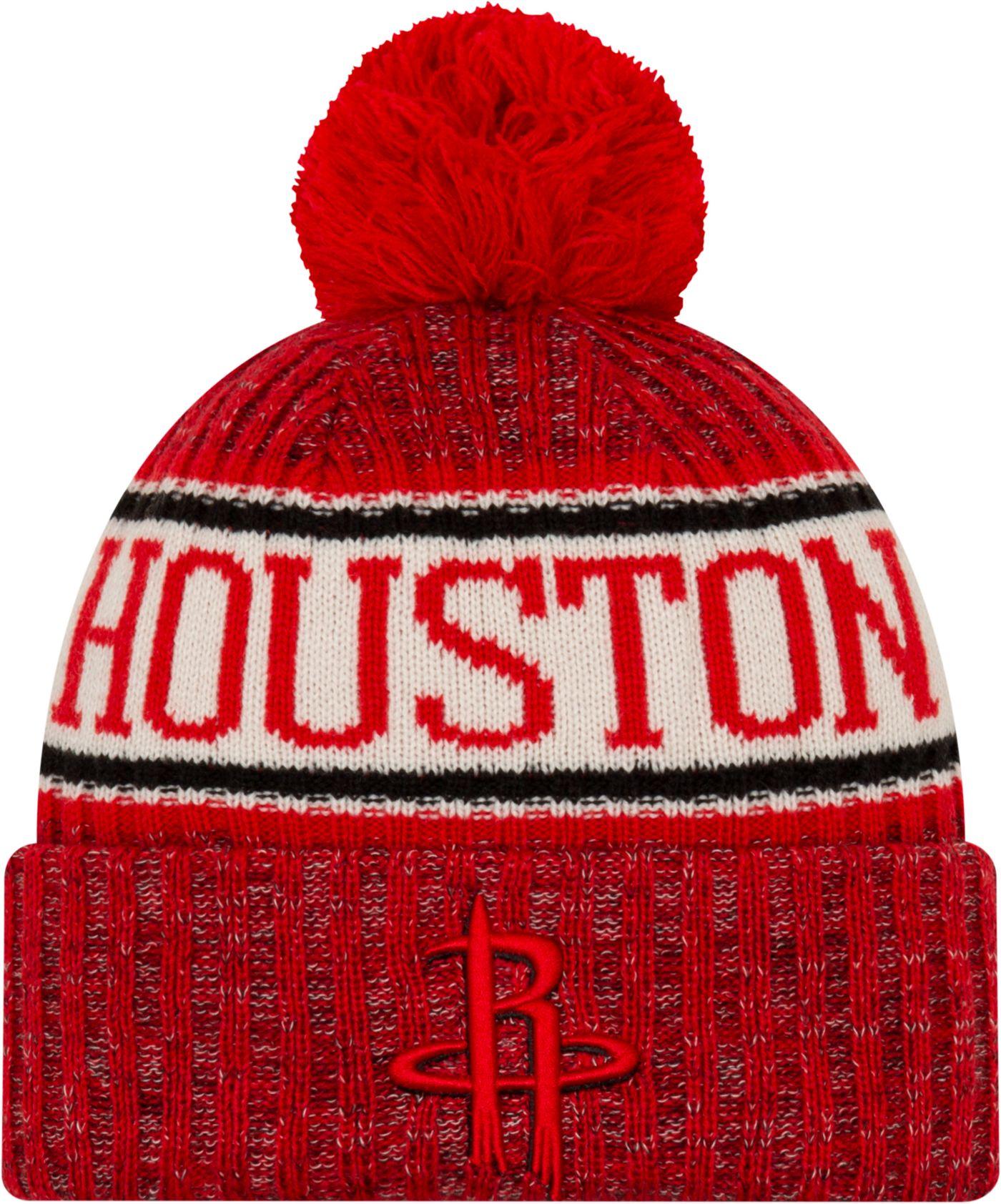 New Era Men's Houston Rockets Sports Knit Hat
