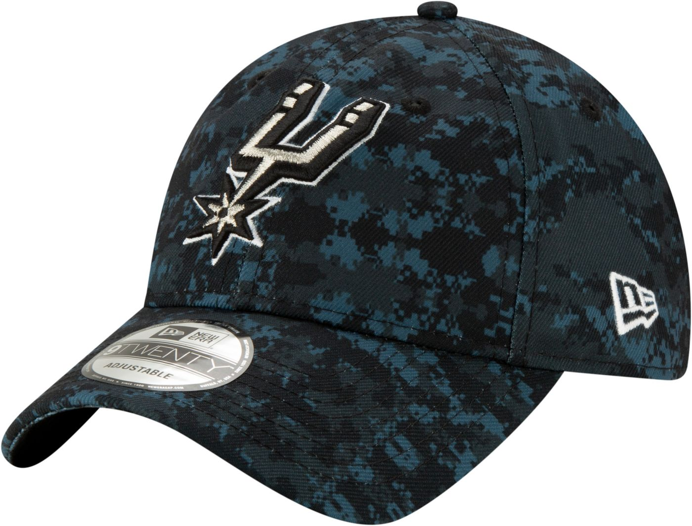 New Era Men's San Antonio Spurs 9Twenty City Edition Adjustable Hat