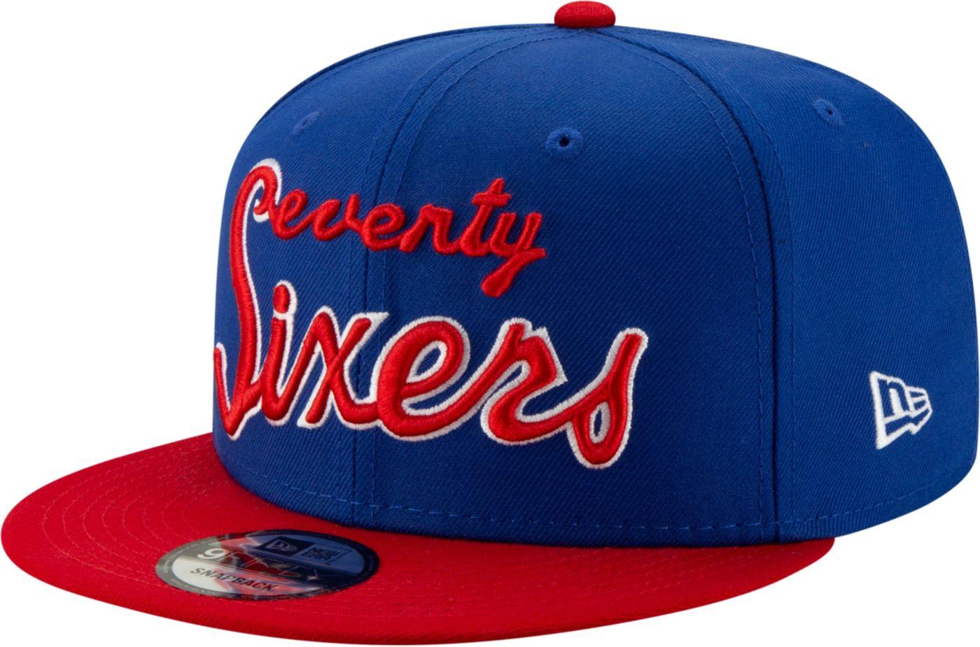New Era Men's Philadelphia 76ers 9Fifty Adjustable Snapback Hat