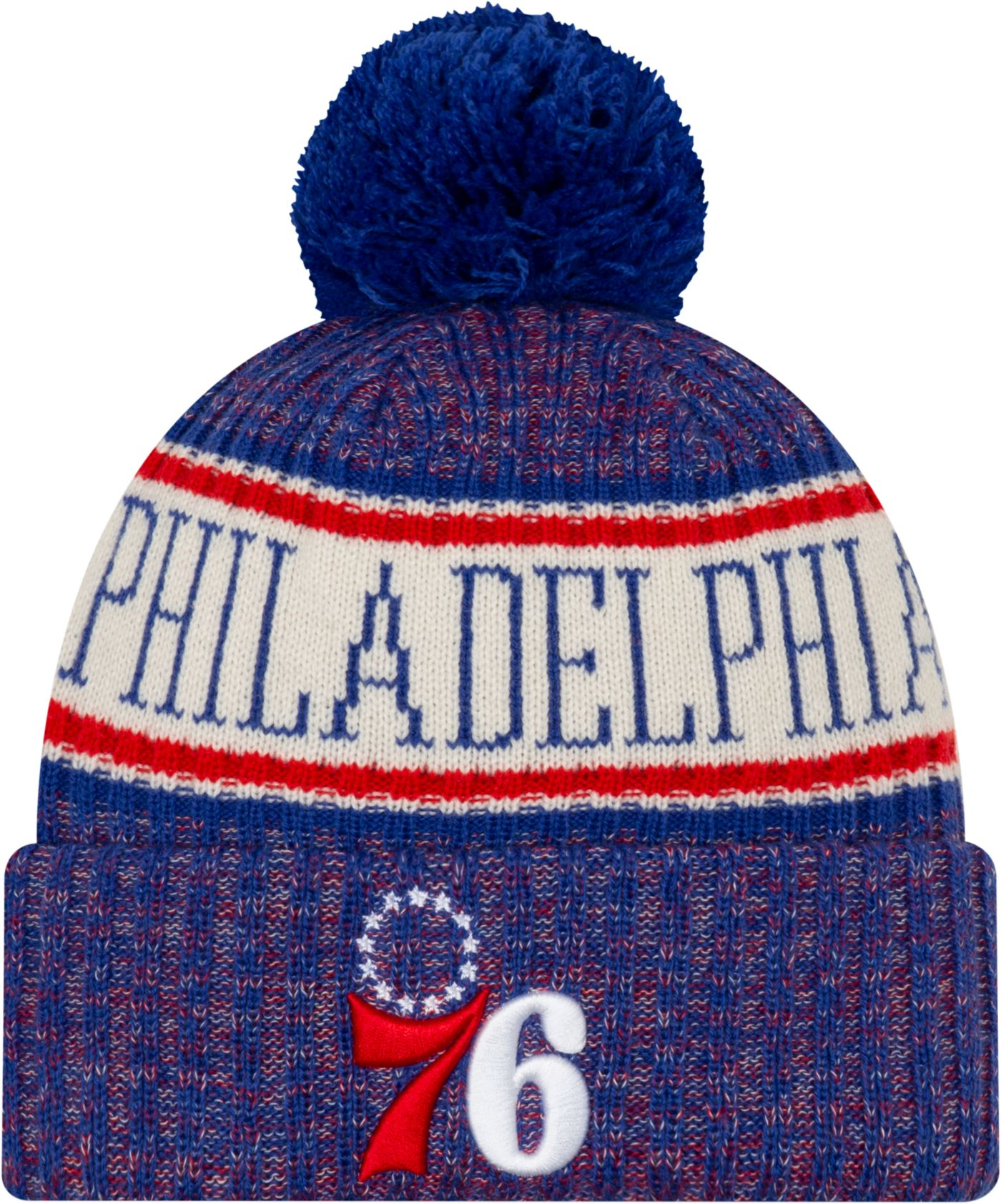New Era Men's Philadelphia 76ers Sports Knit Hat