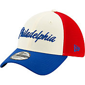 New Era Men's Philadelphia 76ers 39Thirty City Edition Stretch Fit Hat
