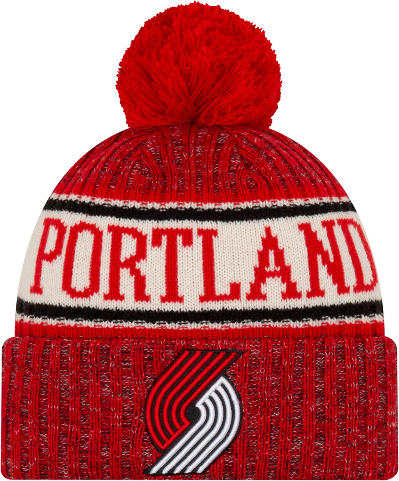 New Era Youth Portland Trail Blazers Sports Knit Hat