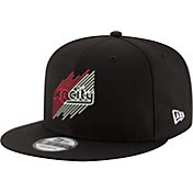 "New Era Men's Portland Trail Blazers 9Fifty ""Rip City"" Black Adjustable Snapback Hat"