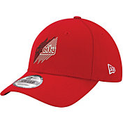 "New Era Men's Portland Trail Blazers 9Forty ""Rip City"" Red Adjustable Hat"