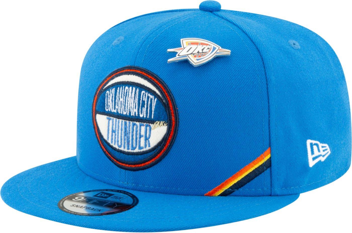 New Era Men's Oklahoma City Thunder 2019 NBA Draft 9Fifty Adjustable Snapback Hat