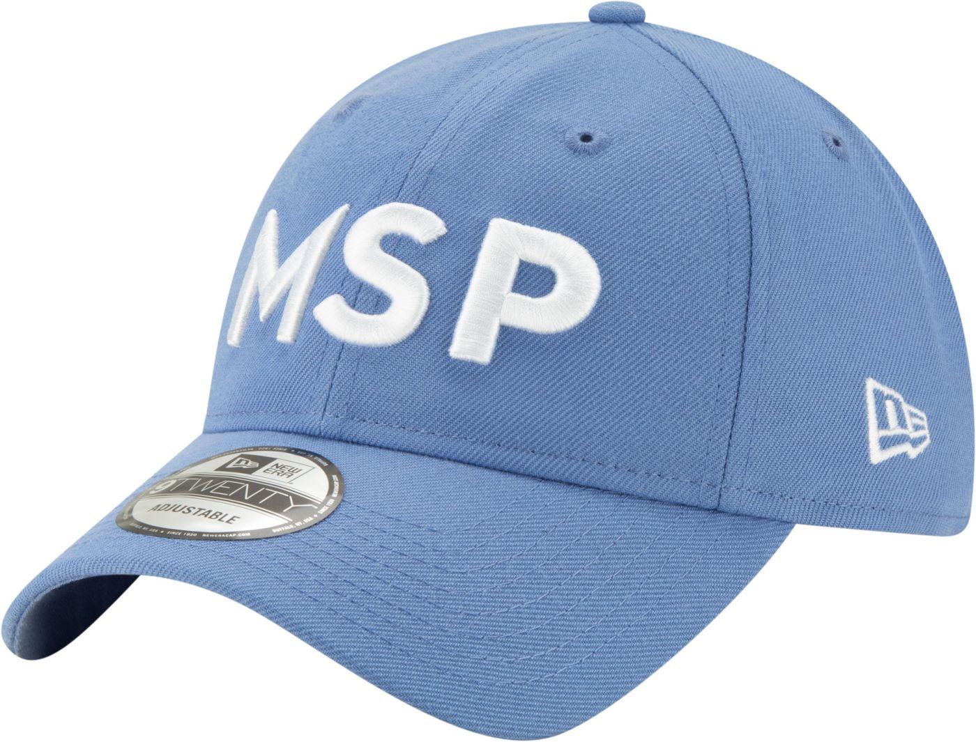 New Era Men's Minnesota Timberwolves 9Twenty City Edition Adjustable Hat