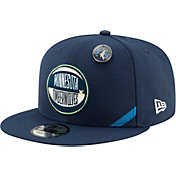 New Era Men's Minnesota Timberwolves 2019 NBA Draft 9Fifty Adjustable Snapback Hat