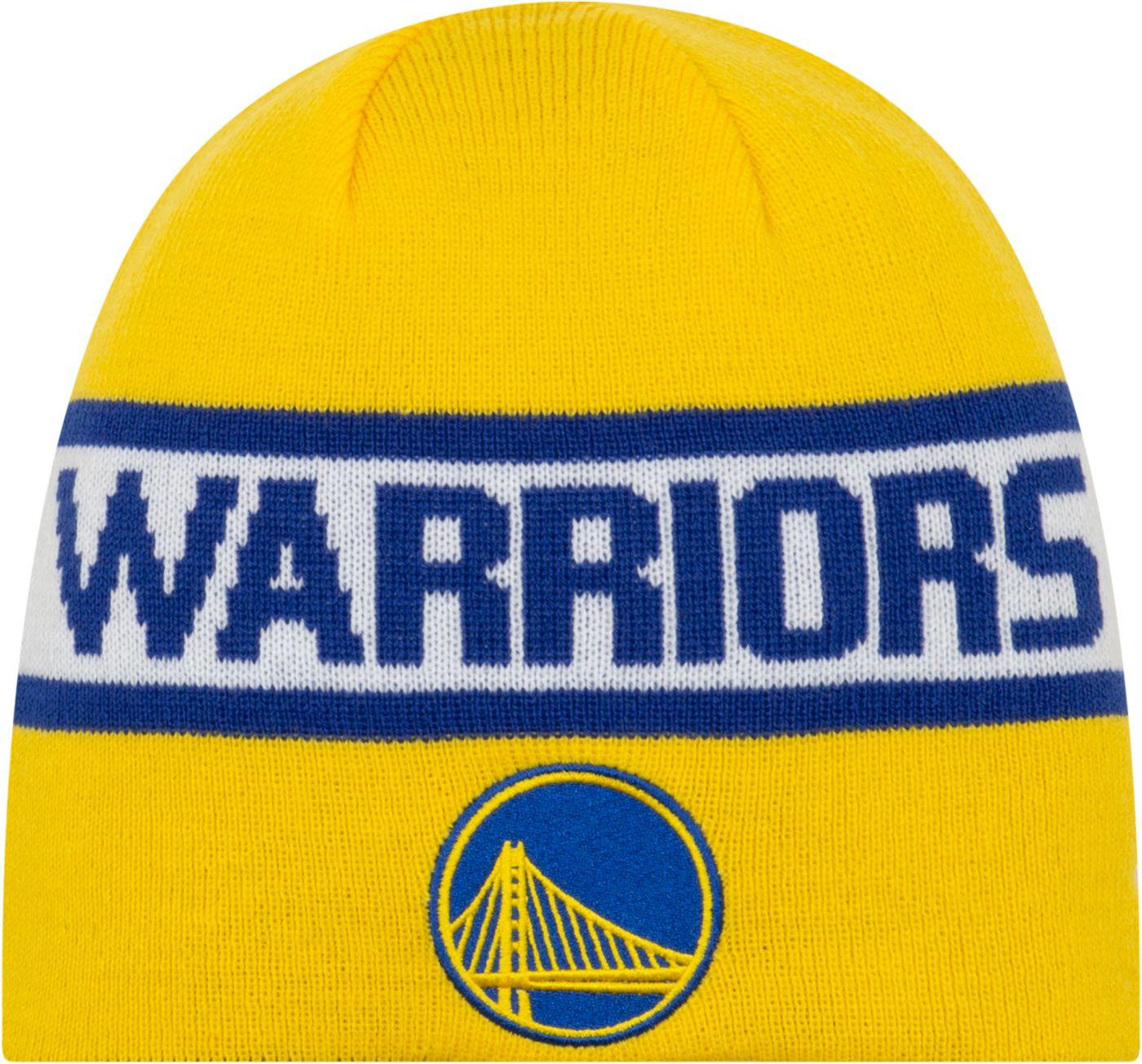 New Era Men's Golden State Warriors Reversible Sports Knit Hat