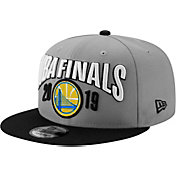 New Era Men's 2019 NBA Finals Golden State Warriors 9Fifty Locker Room Adjustable Snapback Hat