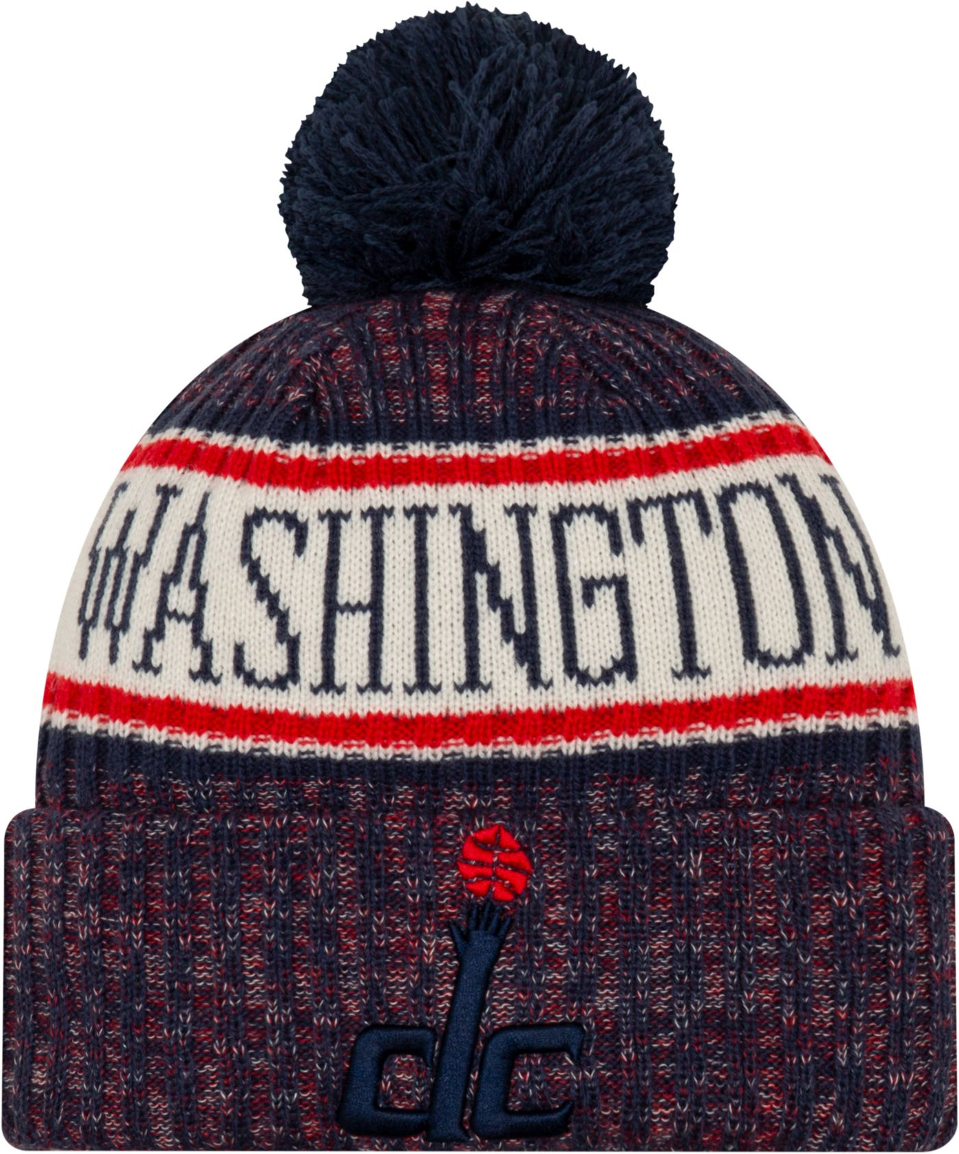 New Era Men's Washington Wizards Sports Knit Hat