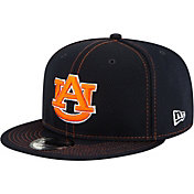 New Era Men's Auburn Tigers Blue Sideline Road 9Fifty Adjustable Snapback Hat