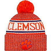 New Era Men's Clemson Tigers Orange Sport Knit Beanie