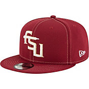 New Era Men's Florida State Seminoles Garnet Sideline Road 9Fifty Adjustable Snapback Hat