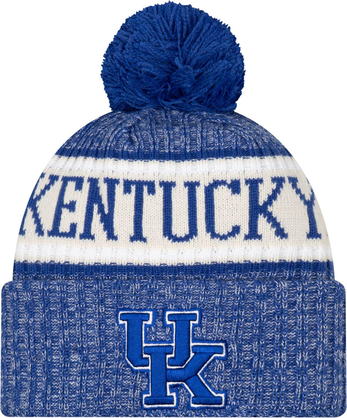 New Era Men's Kentucky Wildcats Blue Sport Knit Beanie