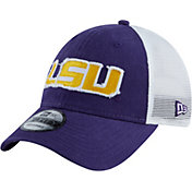 New Era Men's LSU Tigers 9Forty Trucker Adjustable Hat