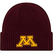 New Era Men's Minnesota Golden Gophers Maroon Cuffed Knit Beanie