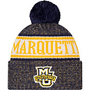 New Era Men's Marquette Golden Eagles Blue Sport Knit Beanie