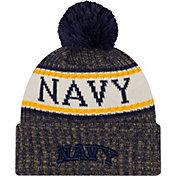 New Era Men's Navy Midshipmen Sport Knit Navy Beanie