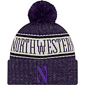 New Era Men's Northwestern Wildcats Purple Sport Knit Beanie