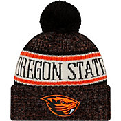 New Era Men's Oregon State Beavers Sport Knit Black Beanie