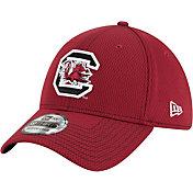 New Era Men's South Carolina Gamecocks Garnet Sideline Road 39Thirty Stretch Fit Hat
