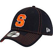 New Era Men's Syracuse Orange Blue Sideline Road 39Thirty Stretch Fit Hat