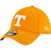 New Era Men's Tennessee Volunteers Tennessee Orange Sideline Road 39Thirty Stretch Fit Hat