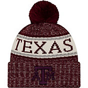 New Era Men's Texas A&M Aggies Maroon Sport Knit Beanie