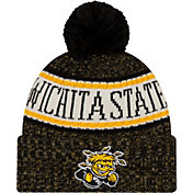 New Era Men's Wichita State Shockers Sport Knit Black Beanie