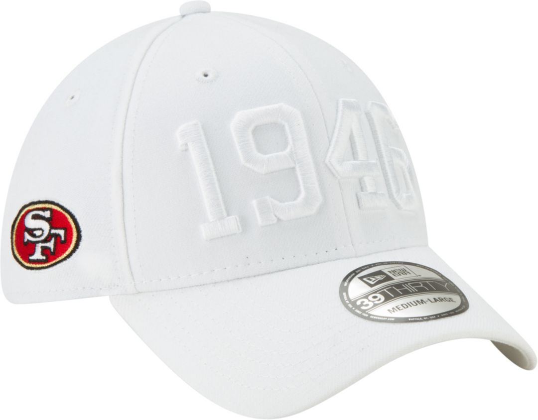 New Era Men's San Francisco 49ers Sideline Color Rush 39Thirty Stretch Fit  Hat