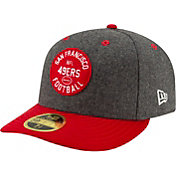New Era Men's San Francisco 49ers Sideline Home 59Fifty Fitted Hat