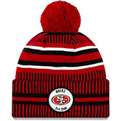 New Era Men's San Francisco 49ers Sideline Home Sport Pom Knit