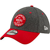 New Era Men's San Francisco 49ers Sideline Home 39Thirty Stretch Fit Hat