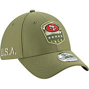 New Era Men's Salute to Service San Francisco 49ers 39Thirty Olive Stretch Fit Hat