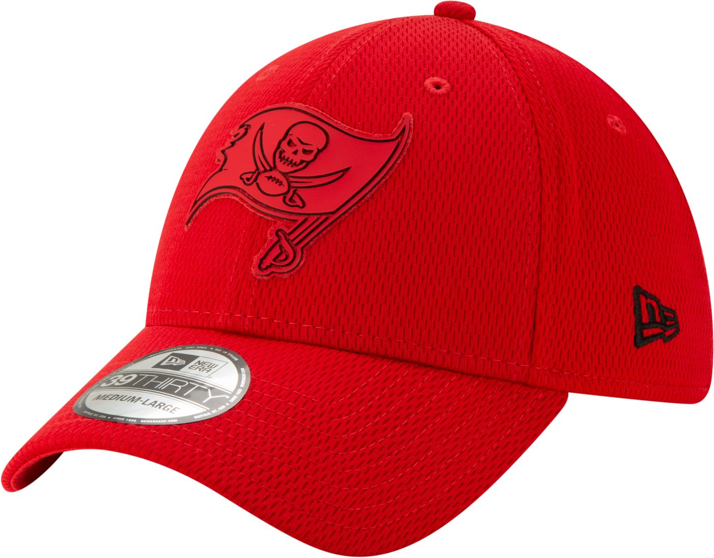 New Era Men's Tampa Bay Buccaneers Tonal Mold 39Thirty Stretch Fit Hat