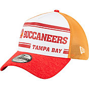 New Era Men's Tampa Bay Buccaneers Sideline Home 39Thirty Stretch Fit Hat