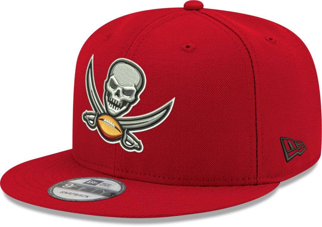 03c18487 New Era Men's Tampa Bay Buccaneers Elemental 9Fifty Adjustable Red Hat