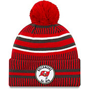 New Era Men's Tampa Bay Buccaneers Sideline Home Sport Pom Knit