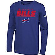 New Era Men's Buffalo Bills Combine Royal Long Sleeve Shirt