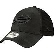New Era Men's Buffalo Bills Neo Camo Front 39Thirty Black Stretch Fit Hat