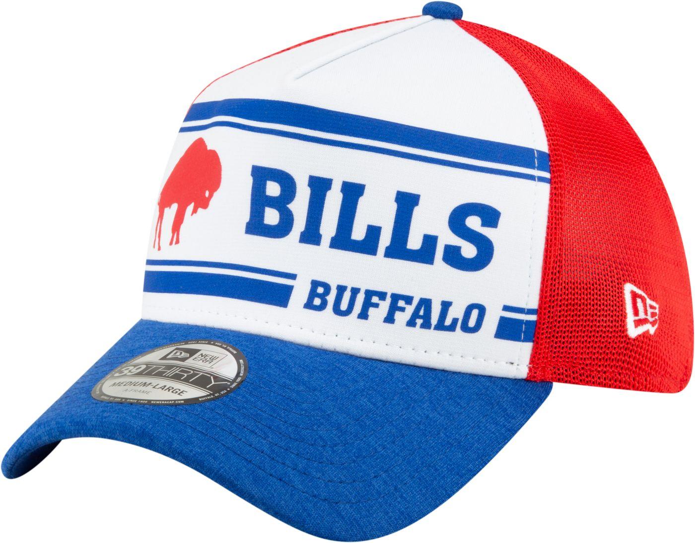 New Era Men's Buffalo Bills Sideline Home 39Thirty Stretch Fit Hat