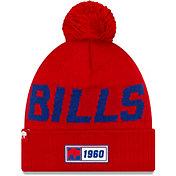 New Era Men's Buffalo Bills Sideline Road Sport Pom Knit