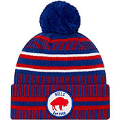New Era Men's Buffalo Bills Sideline Home Sport Pom Knit