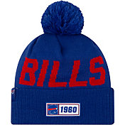 New Era Men's Buffalo Bills Sideline Road Sport Pom Knit