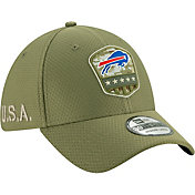New Era Men's Salute to Service Buffalo Bills 39Thirty Olive Stretch Fit Hat