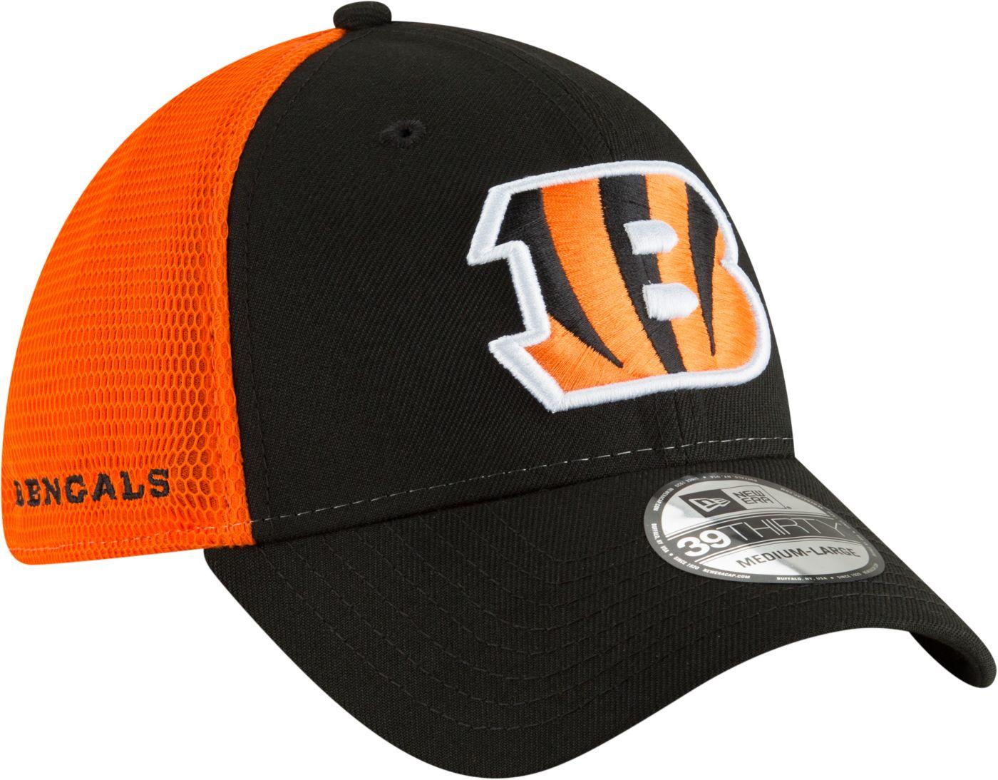 New Era Men's Cincinnati Bengals 2Tone Sided 39Thirty Stretch Fit Hat