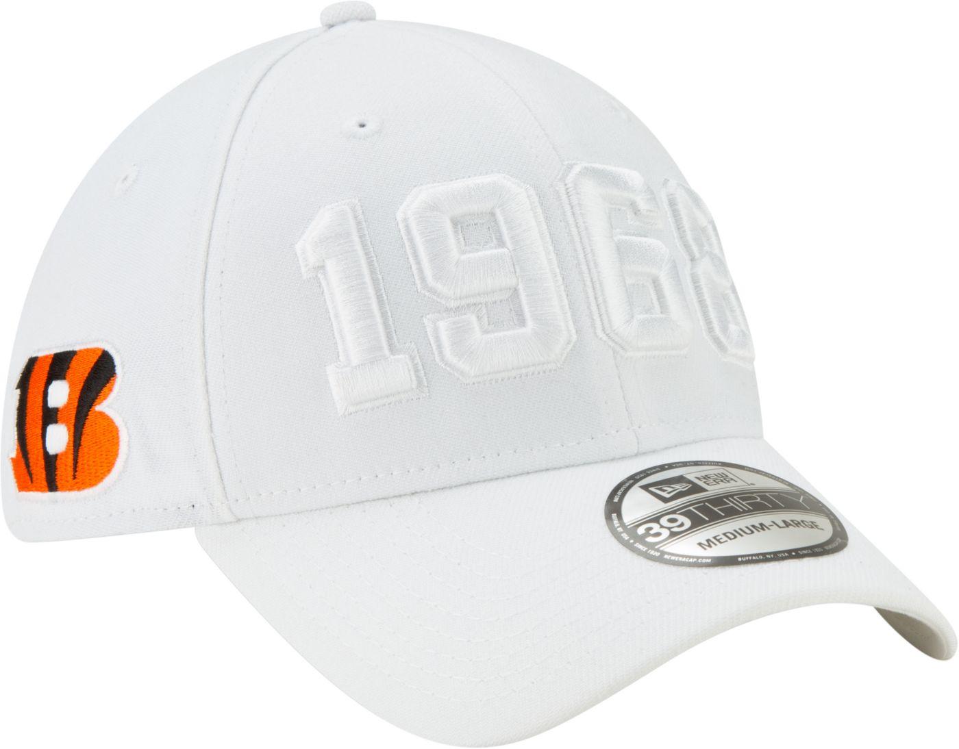 New Era Men's Cincinnati Bengals Sideline Color Rush 39Thirty Stretch Fit Hat