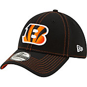 New Era Men's Cincinnati Bengals Sideline Road 39Thirty Stretch Fit Hat